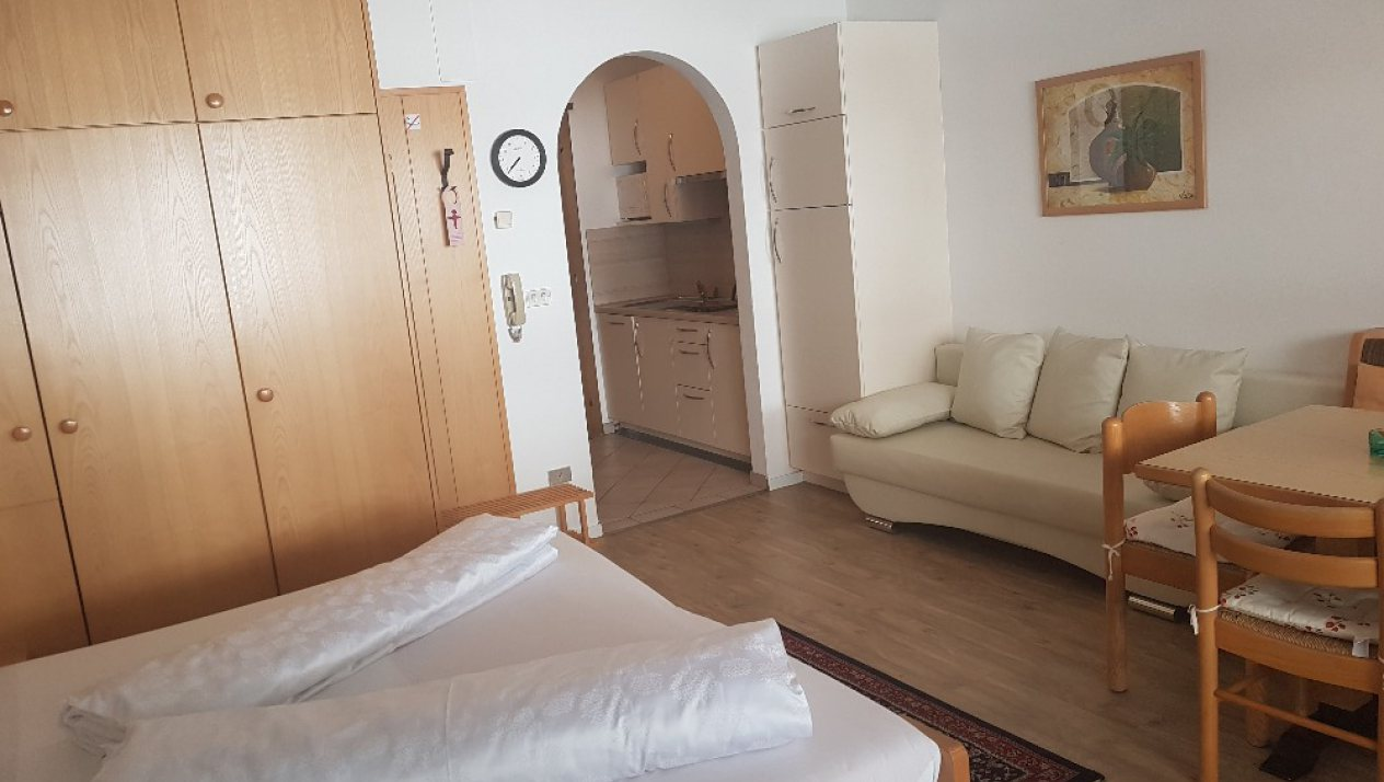 One-room-apartment B - 3 persons